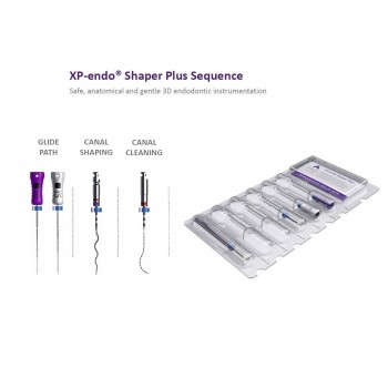 Никел - Титаниеви Пили XP - ENDO SHAPER PLUS